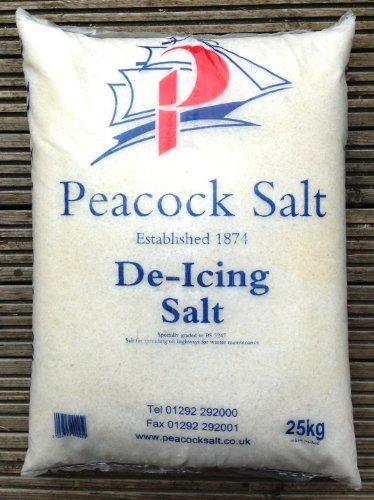 Peacock SALT Rock Salt White, 25 kg Per Bag -