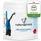 Sportgel Pro Active Muscle | 500ml intensiv durchblutungsförderndes Wärmegel | konserviert Muskelwärme | unterstützt Heilung bei Muskelschmerzen Gelenkschmerzen | von Profi-Sportlern empfohlen