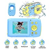 Kinderkamera Kinder Kamera Kinder wasserdichte Kamera 1080P Kamera für Kinder Fotoapparat Kinder wasserdichte Digitalkamera für Kinder Geschenke