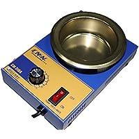 Crisol pozzetto para soldar estaño diámetro 100mm 2,2kg 300W.