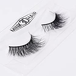 9th Avenue SA12: 2017 Lashes 3D Mink Thick Fake Eyelashes Women s Makeup False Lashes Hand-made 3D Style 1 Pair Packag