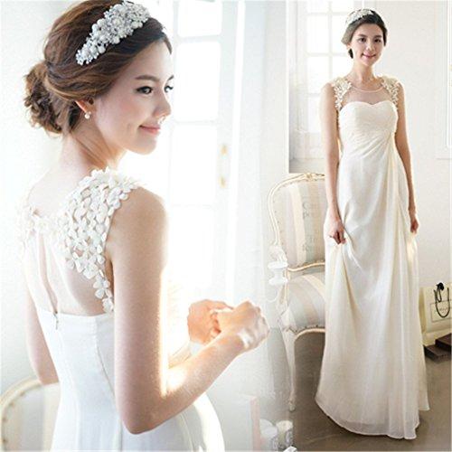 Drasawee - Robe - Crayon - Femme Blanc - Blanc