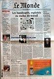 Telecharger Livres MONDE LE No 17981 du 16 11 2002 LES HANDICAPES EXPLOITES OU EXCLUS DU TRAVAIL IRAK ET TERRORISME PAPE JEAN PAUL IL RAPPELLE IL HERITAGE RELIGIEUX DE L EUROPE ARGENTINE BUENOS AIRES FAIT DEFAUT SUR SA DETTE CONJONCTURE L INVESTISSEMENT CHUTE DE 7 EN 2002 GOUVERNEMENT LUC FERRY APRES LES CRITIQUES L ELYSEE JOUE L APAISEMENT SECURITE NOUVELLE CARTE POLICE GENDARMERIE STYLES LE CUIR CAMELEON TRESSE PLISSE ETC EN CHINE UNE PASSATION DE POUVOIR E (PDF,EPUB,MOBI) gratuits en Francaise