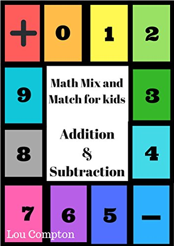 Math Mix and Match for  kids: Addition and Subtraction (English Edition)