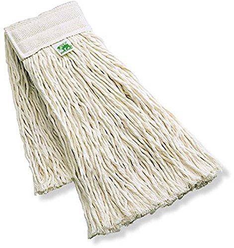 Mop cotone ricambio 400 gr- mocio pavimenti x carrello strizzatore professionale