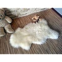 Tapis en peau de mouton   Neuf   Meilleure Qualité (Peau d'agneau 100-110 cm)