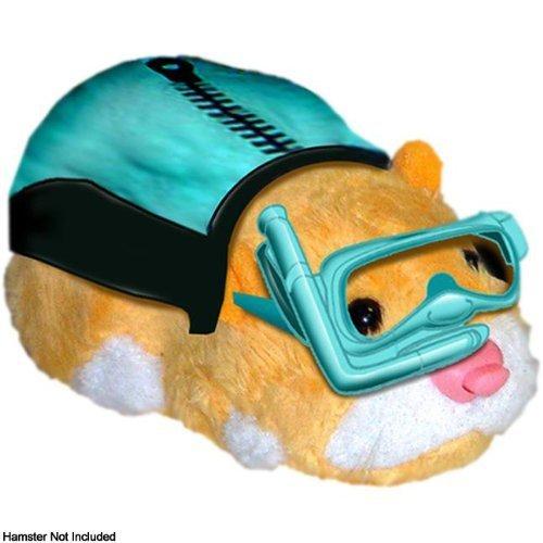 Giochi Preziosi 70866601 Zhu Zhu pets - Hamster outfit (Swimsuit) - Outfits: Swimming Costume & Mask