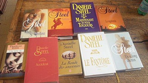 Lot 9 Livres De Danielle Steel : La Vagabonde - Le Fantôme - Une Autre Vie - La Ronde Des Souvenirs - Maintenant Et Pour Toujours - Palomino - Un Si Long Chemin - Accident - Malveillance -