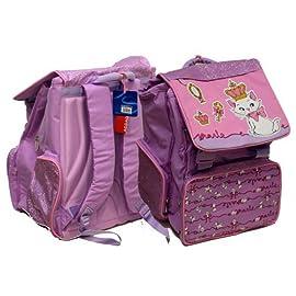 BAOSHA KD-01 in Tela Zainetto per Bambini Sacchetto di Scuola Materna Zaini per la Scuola Borsa Preschool Zaino a Tracolla per Kindergarten Rragazzi e Ragazze Strisce Blu
