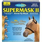 Farnam Companies Inc 100503757 Cuivre / Noir Supermask 2 Cr W / O oreilles Arabian