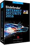 Bitdefender Internet Security 2016 (3 postes, 1 an)