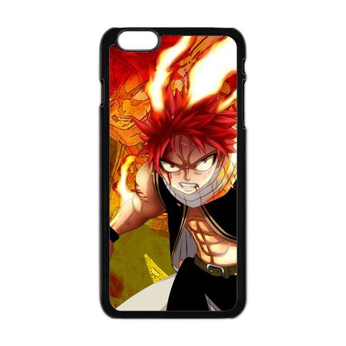"""iPhone 6Plus (5,5) Design Étui cover case-Fairy Tail TPU Étui Coque de Protection pour iPhone 6Plus (5.5"""") (Blanc/Noir)"""