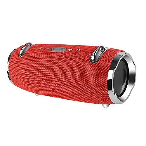 oser Bluetooth V4.2 wasserdichter Stereolautsprecher der zweiten Generationrot ()