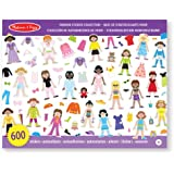 Melissa & Doug 14190 Fashion Sticker Collection