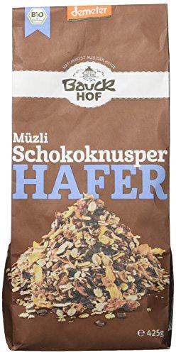 Bauckhof Hafermüsli Schokoknusper Demeter, 425 g