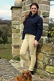 Gallop Classic Pantalon d'équitation Femme, Beige, Taille 38