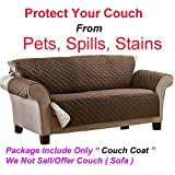 Gion Waterproof Anti-Skid Couch Sofa Protector Cover Dog Supplies Suede Pet Dog Cushion