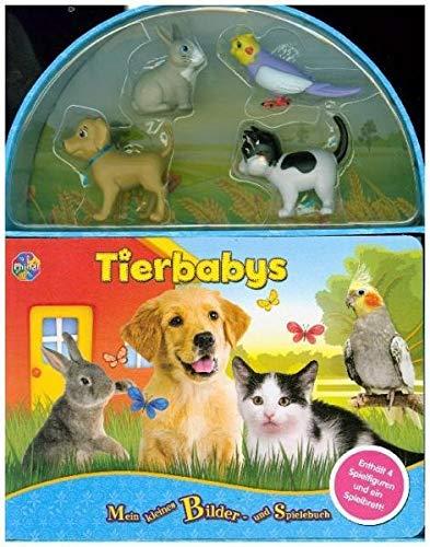 Tierbabys. Mini Spiel- u. Beschäftigungsbuch