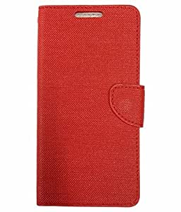 ZYNK CASE FLIP COVER FOR YU YUNICORN-RED