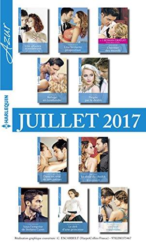10 romans Azur + 1 gratuit (nº3845 à 3854 - Juillet 2017) (French ...