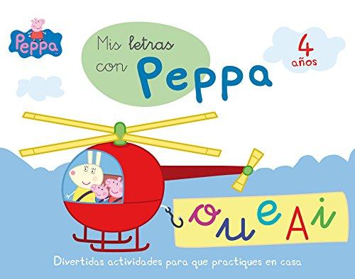 Mis letras con Peppa - 4 años (Aprendo con Peppa Pig)
