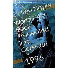 World Fact Book - Translated into Corsican : 1996 (Corsican Edition)