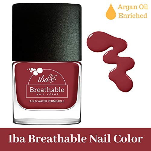 Iba Halal Care Breathable Nail Color, B07 Dusky Pink, 9ml