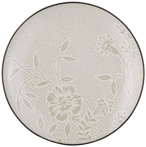 Noritake Colorwave Bloom Coup Salad/Dessert Plate, Chocolate by Noritake Noritake Dessert