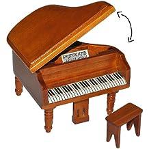 Holz Untersetzer für Klavier oder Flügel Buche