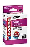 edding Tintenpatrone EDD-262 ersetzt Canon PGI-520BK Doppelpack - 2x Schwarz - 2x 20ml