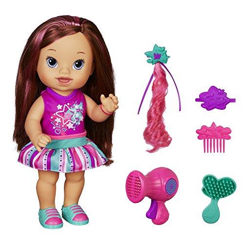 Preisvergleich Produktbild Baby Alive Play 'n Style Christina Doll (Brunette) by Baby Alive