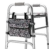 Guoer Walker bag adatto per molteplici Walking Aids Walker accessori deambulatori o scooter borsa per sedia a rotelle deambulatore borsa più colori
