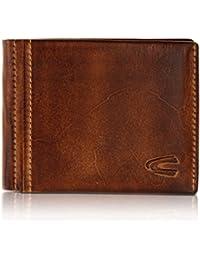camel active, kleine Geldbörse aus echtem Leder, hochwertiges Echtleder Portemonnaie für Herren, Geldbeutel
