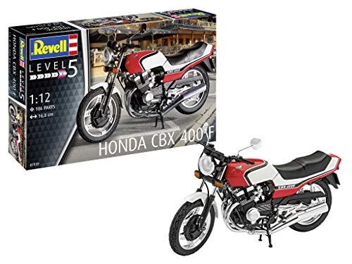 Revell 07939 Honda CBX 400 F originalgetreuer Modellbausatz für Experten, Mehrfarbig