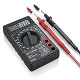 CSL - Digital Multimeter - Messgerät Spannungsmesser Stromprüfer Widerstand Strommessgerät - Akustische Durchgangsprüfung und Diodentests