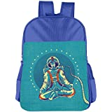 Rechargeable Astronaut Kids School Shoulder Backpack Bag Children Bookbag