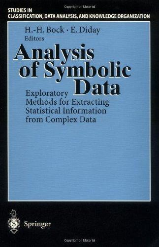 Analysis Of Symbolic Data Exploratory Methods For Extracting