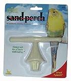 JW Pet Company Insight Sand Perch T Perch Bird Accessory, Small, Colors Vary