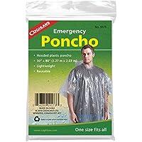 Poncho de emergencia para supervivencia Coghlans transparente, para hombre, hombre, Emergency Poncho - Clear, transparente