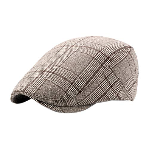 1708e2a5778a51 Leisial Sombreros Gorras Boinas Gorra de Béisbol Ocio Retro Clásico del  Algodón Gorra de Deport Hat