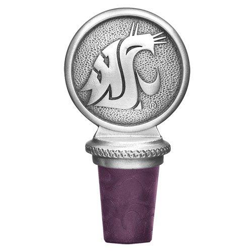 Washington State University - Cougars Bottle Stopper by Heritage Pewter (Washington State University Cougars)
