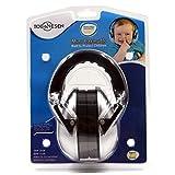 Sicherheit Ohrmuscheln Trommeln Gehörschutz Geräuschunterdrückung Kopfhörer für Kinder Kinder Soft Adjustable Headband Ohrschutz für Airplan Konzert Reisen Schlafen, Silber