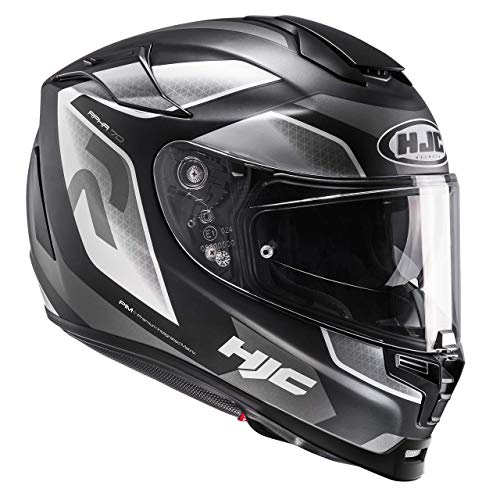 HJC Motorradhelm RPHA 70 Grandal MC5SF, Schwarz/Weiß, Größe L