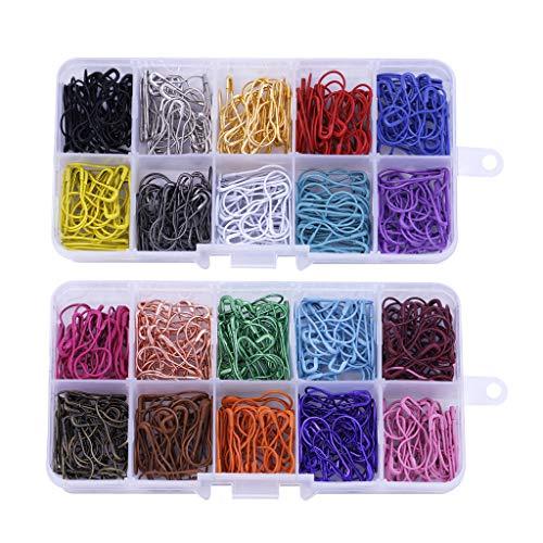 te Birne Pins Kürbis Sicherheitsnadeln Metall Calabash Pins mit Aufbewahrungsbox für DIY Handwerk ()
