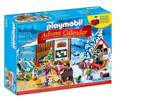 PLAYMOBIL Calendario Adviento-9264 Taller