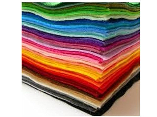 Edukit Acrylic Felt Pack of 30 A4 sheets