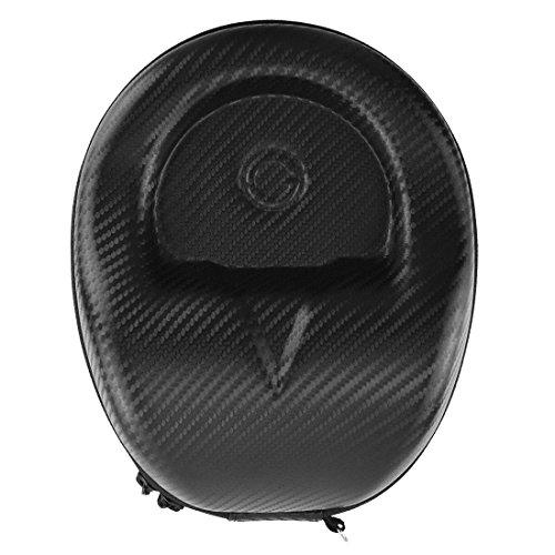 Geekria EJB63Geekria headphones case/hard shell cuffie custodia da trasporto/borsa protettiva da viaggio per Sennheiser HD598CS, ATH M50x, Sony XB900, Beats Studio e più (nero)