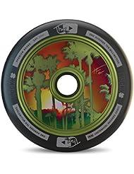 Tanner de la suerte Fox firma Pro Stunt Scooter rueda–varios colores/tamaños, verde