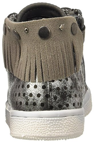 Lumberjack Miss Smith, Scarpe a Collo Alto Bambina Grigio (Cd003)
