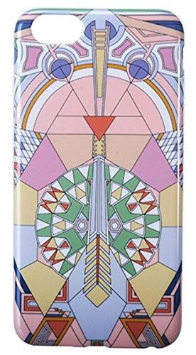 YTC iPhone 6Plus Case Frank Lloyd Wright Imperial Hotel Pfau Teppich, Multi Farbe (Pfau-farben-teppich)